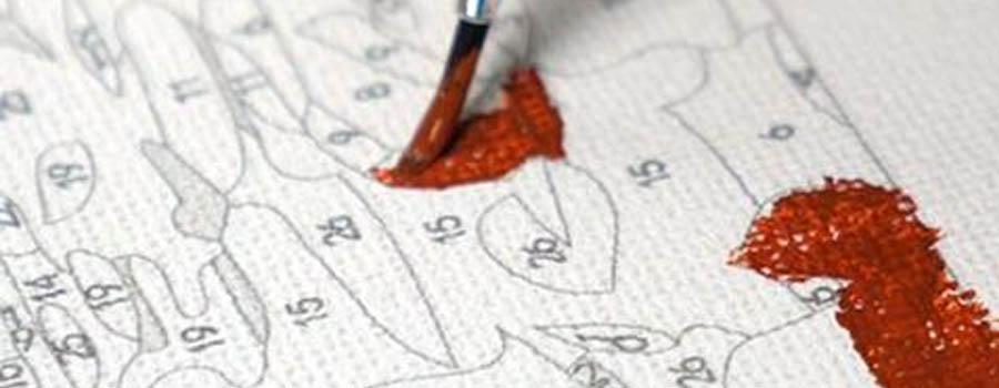 Инструкция - как раскрашивать картину по номерам? / Блог